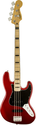 Fender SQUIER VINTAGE MODIFIED JAZZ BASS® '70S MAPLE FINGERBOARD CANDY APPLE RED бас-гитара
