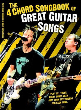HLE90004695 The 4 Chord Songbook Of Great Guitar Songs книга с нотами и аккордами
