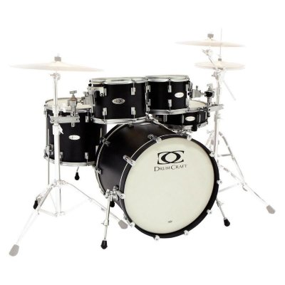 DRUMCRAFT Series 8 Progressive Maple Cardiac Burst Black Nickel HW акустическая барабанная установка