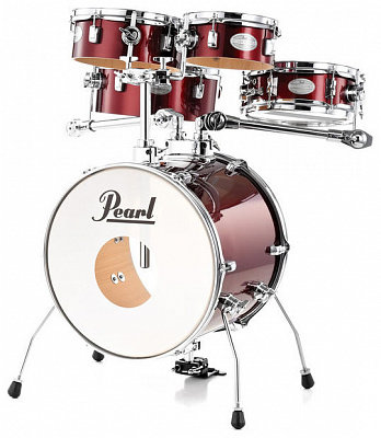 PEARL RTGX-665/91 ударная барабанная установка акустическая Rhythm Traveler Red Wine