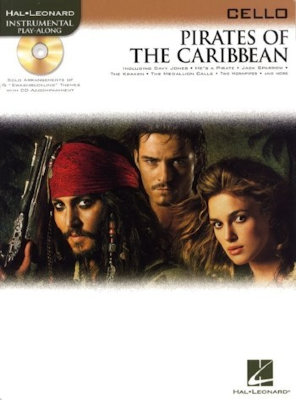 HL00842192 - KLAUS BADELT PIRATES OF THE CARIBBEAN (CELLO) VLC BOOK/CD
