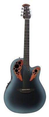 Ovation CE44-RBB Celebrity Elite Mid Cutaway Reversed Blueburst электроакустическая гитара