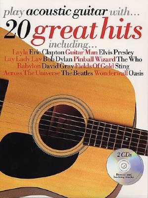 AM976734 - Play Acoustic Guitar With... 20 Great Hits - книга: Играем...