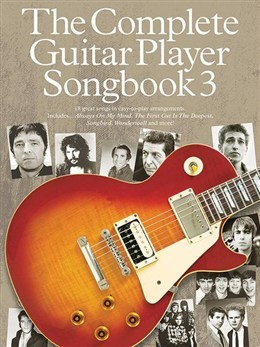 AM995434 The Complete Guitar Player: Songbook 3 (2014 Edition)