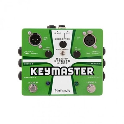 PIGTRONIX REM Keymaster, Reamp Effects Mixer