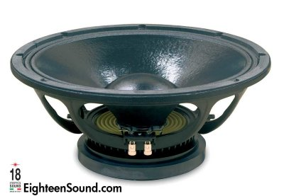 "EIGHTEEN SOUND 15W930/8 15"" динамик НЧ, 8 Ом, 800 Вт AES, 98dB, 50-5000 Гц"