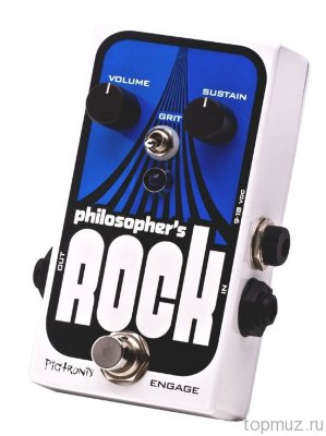 PIGTRONIX ROK Philosopher's Rosk Sustainer with Germanium Overdrive