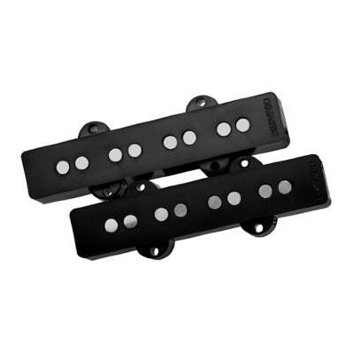 DiMarzio DP149BK Ultra Jazz Neck&Bridge Set) комплект звукоснимателей для бас-гитары